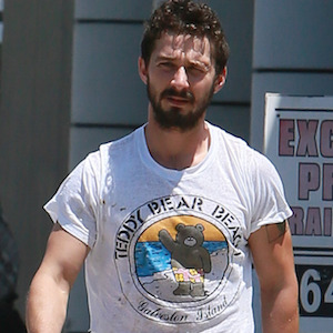 Shia LaBeouf Hits The Gym In Lakers T-Shirt, Aims For Healthier Lifestyle
