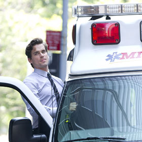 Matt Bomer Hops An Ambulance Ride