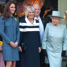 Kate Middleton Takes Tea With Queen Elizabeth, Camilla For Inaugural Diamond Jubilee Event