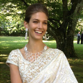 Kendra Spears American Supermodel Marries Prince Rahim