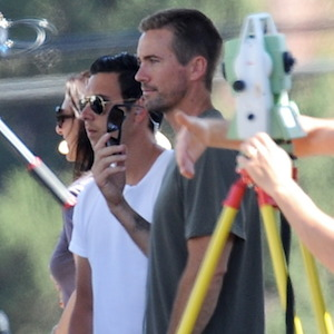 Caleb Walker Steps In For Brother Paul Walker On Set Of 'Fast And Furious 7'