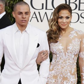 Casper Smart Escorts Lacy J-Lo To Globes