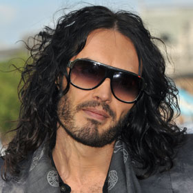 Russell Brand Meditates Behind the Wheel