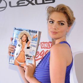 Kate Upton Parties With Rest Of Sports Illustrated Swimsuit Issue Models In Vegas