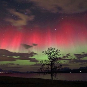 Aurora Borealis Visible In New York, Washington