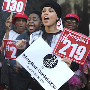Alicia Keys Organizes 'Bring Back Our Girls' Protest In NYC