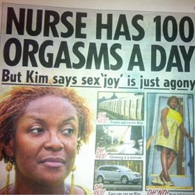 Kim Ramsey Suffers From Rare '100 Orgasms A Day' Disorder