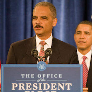 Eric Holder Stepping Down As Attorney General