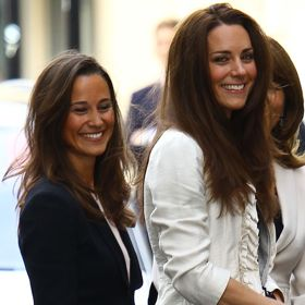 Kate And Pippa Middleton Have A Girls' Day Out At Wimbledon
