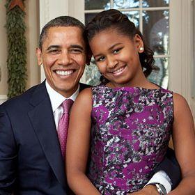 VIDEO: Sasha Obama Congratulates Dad Barack Obama For Not 'Messing Up'