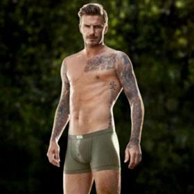 David Beckham Releases New Underwear Video Ad