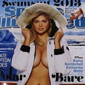 Kate Upton Lands Second Sports Illustrated Swimsuit Cover In A Row
