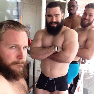 Canadian Bobsled Team Posts Nearly Naked Photo On Twitter, Starts Internet Trend '#BeardMode'