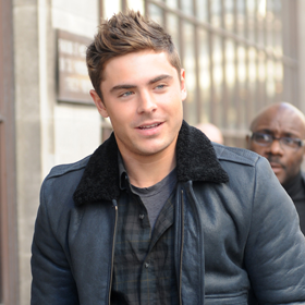 The New Zac Efron Emerges In London