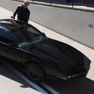 David Hasselhoff's KITT Car Sold For $150,000 At Auction Benefiting The Starlight Children's Foundation