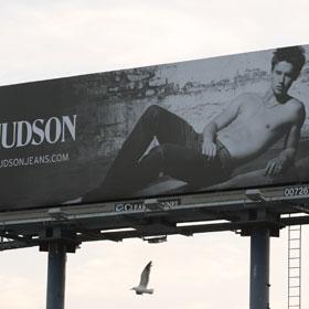 Patrick Schwarzenegger Goes Shirtless In New Billboard
