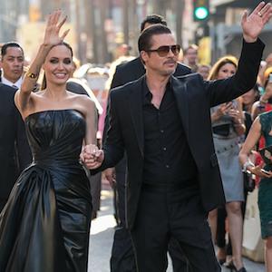 Angelina Jolie & Brad Pitt Stun At 'Maleficent' World Premiere