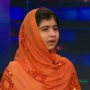 Malala Yousafzai Gets Standing Ovation From 'Daily Show' Audience, Leaves Jon Stewart Speechless