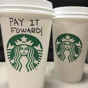 Starbucks 'Pay It Forward' Chain: Over 700 People Participate; Blogger Tries To Stop It