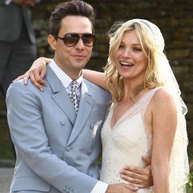 Kate Moss Sparkles At Star-Studded Wedding
