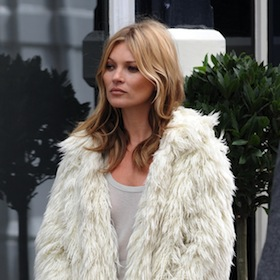 Kate Moss Uses Body Double For Photo Shoot