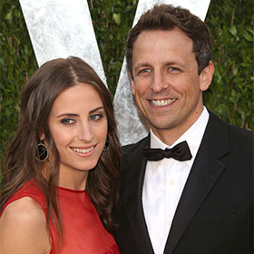 Seth Meyers And Alexi Ashe Wed