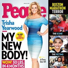 Trisha Yearwood Drops 30 Pounds, Two Dress Sizes