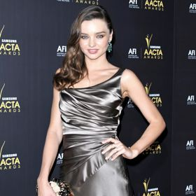 Miranda Kerr Shimmers At Aussie Oscars