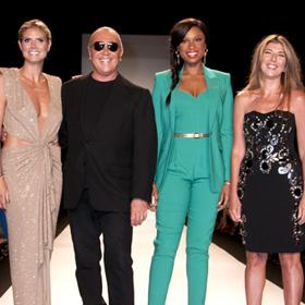 FASHION WEEK: Heidi Klum And Jennifer Hudson Strut For 'Project Runway' At Fashion Week
