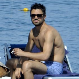 Shirtless Dominic Cooper Spends Steamy Italian Vacation