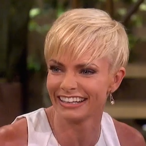 """Jaime Pressly Reveals She Had """"Almost A Full Mastectomy"""" On 'The Talk'"""