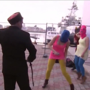 Pussy Riot Whipped And Beaten In Sochi [VIDEO]