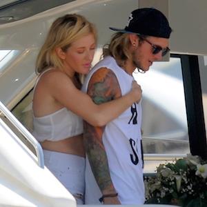 Ellie Goulding Vacations With Boyfriend Dougie Poynter In Ibiza