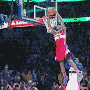 NBA Slam Dunk Contest Results: Eastern Conference, John Wall Win
