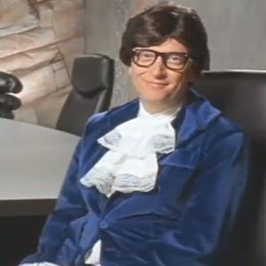 Bill Gates Plays Austin Powers Alongside Steve Ballmer's Dr. Evil In Video