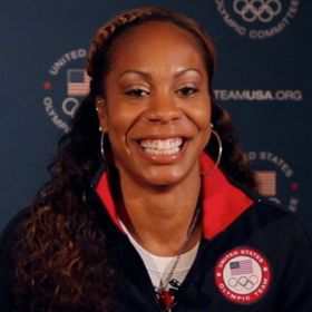 EXCLUSIVE VIDEO: U.S. Olympic Sprinter Sanya Richards-Ross: 'I Deserve To Be Here'