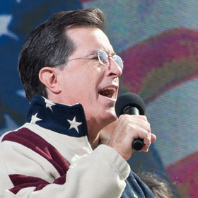 Is Stephen Colbert Seriously Running For President?