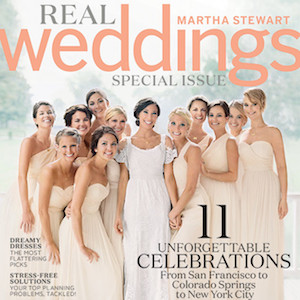 Jennifer Lawrence Appears As Bridesmaid On 'Martha Stewart Weddings' Cover