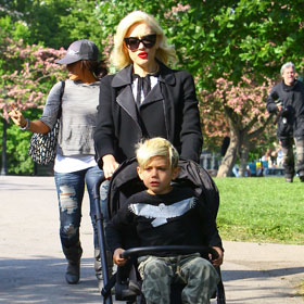Gwen Stefani's Son: Too Old For A Stroller?