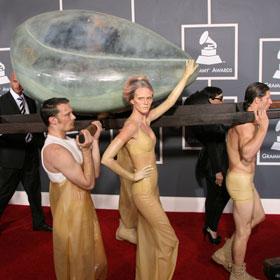 Grammys: What Was Lady Gaga Wearing?