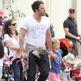 Ben Affleck And Jennifer Garner Celebrate Independence Day With Their Children