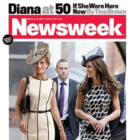 'Newsweek' Resurrects Princess Diana To Go Shopping With Kate Middleton