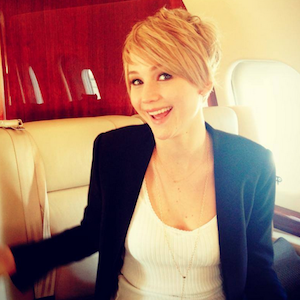 Jennifer Lawrence Chops Her Hair Off, Says It Was 'Fried'