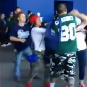 Video Of Male Jets Fan Punching Female Patriots Fan In The Face Results In Four Arrests