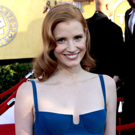 Best Dressed At SAG Awards: Jessica Chastain Gets 'Help' From Calvin Klein