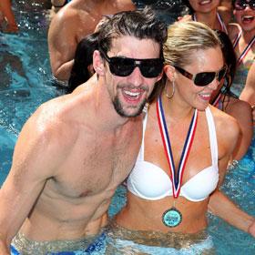 Michael Phelps Makes A Splash In Vegas