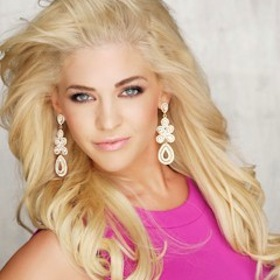 Miss Kansas Sgt. Theresa Vail Puts Tattoos On Display During Miss America Preliminaries