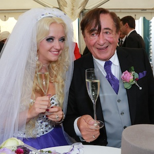Austrian Billionaire Richard Lugner, 81, Weds 'Playboy' Model Cathy Schmitz, 24