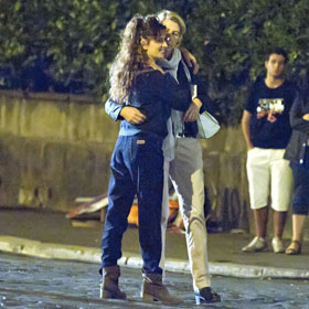 A Retro Penelope Cruz Dances In The Street