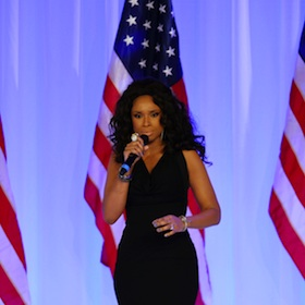 Jennifer Hudson Serenades First Couple At Inaugural Ball